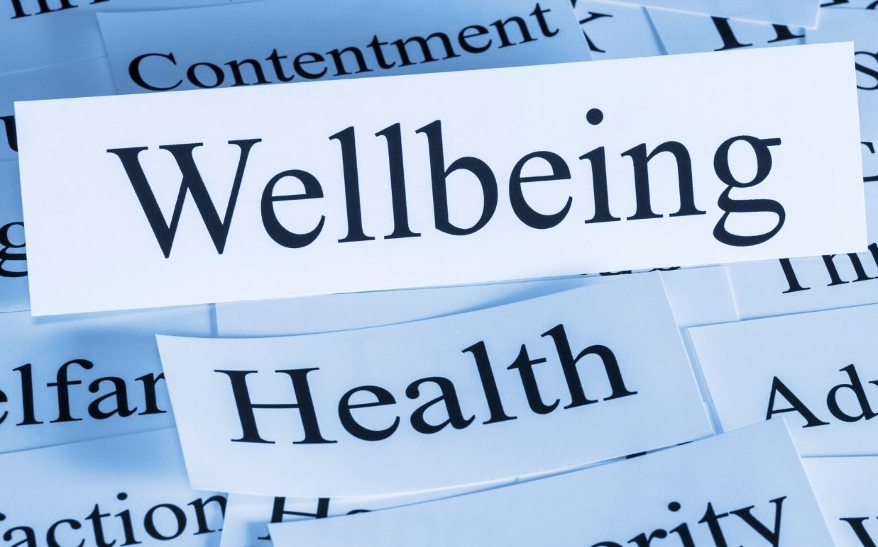 70% of businesses addressing employees' wellbeing