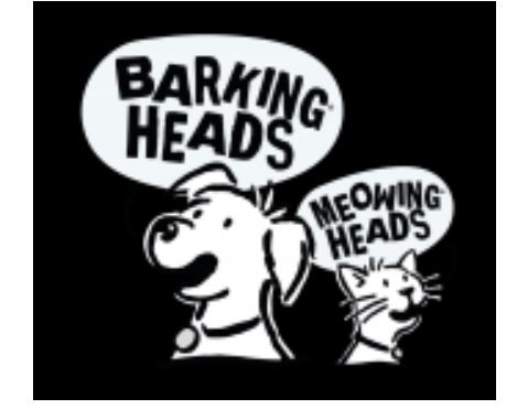 Barkings Heads & Meowing Heads (Dog and Cat food)