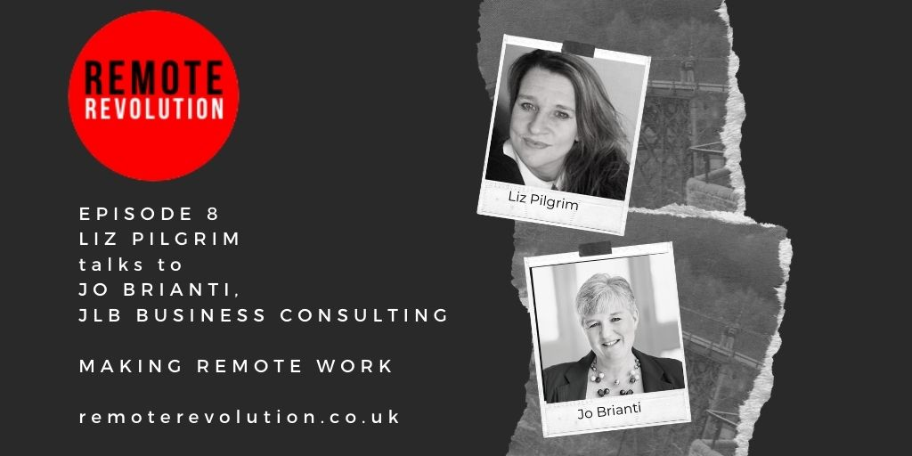 Episode 8 Data Security when working from home with Jo Brianti