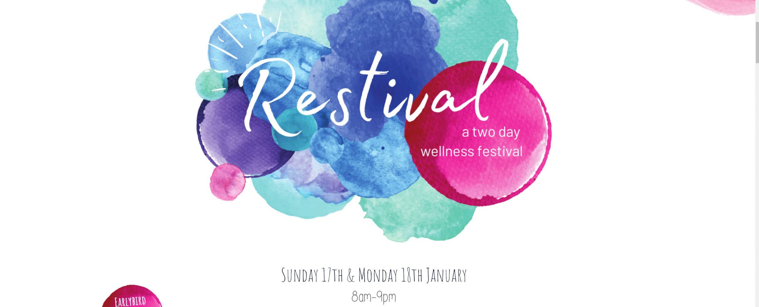 Restival 2021 – A Two Day Wellness Festival
